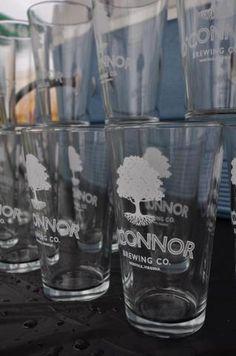 O'Connor Brewing Company glasses