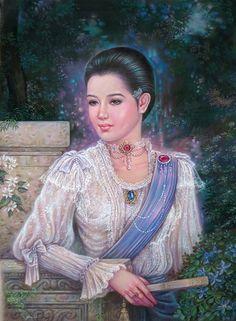 ภาพหญิงไทยโบราณ