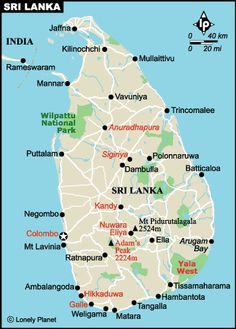 Carte Sri Lanka Lonely Planet.21 Best Things For Holidays Images Sri Lanka Destinations