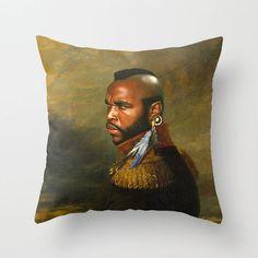 Mr. T I Pity the Fool Decorative Pillow Case Hollywood Print Throw Pillow Sham  #Handmade #Novelty
