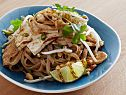 Grilled Tofu and Chicken Pad Thai Recipe