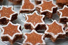 Weihnachtliche-Brownie-Sterne *