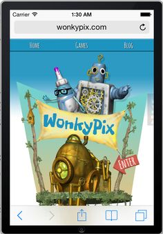 We've launched a new website, www.wonkypix.com take a look and let us know what you think!