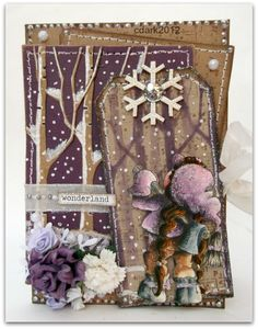 Tilda in the woods, A Christmas story collection, Magnolia stamps