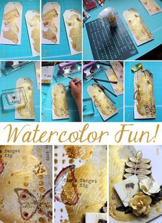 MUST HAVE THESE!! Amazing new watercolor by @primamarketing  ! Watercolor-stepbystep-trina Head on over to their blog and check out the video showing them in action! Prepare to be amazed!
