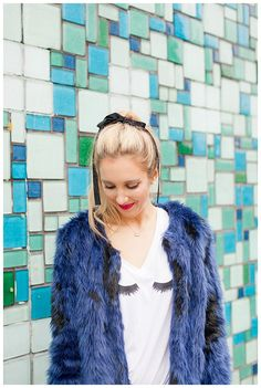 How To Wear Faux Fur For Daytime Wear