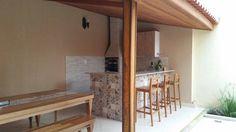 área externa , opção para telhado