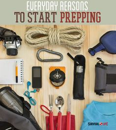 Everyday Uses For Your Emergency Survival Kit | Survival Prepping Ideas, Survival Gear, Skills & Emergency Preparedness Tips - Survival Life Blog: survivallife.com #survivallife #survival #prepping