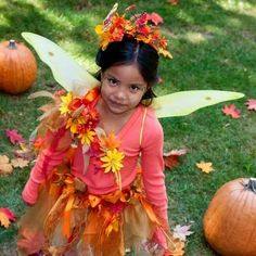 DIY Halloween : DIY Autumn Fairy Costume