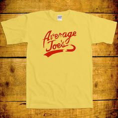 Average Joes Movie Funny Dodgeball Volleyball Sport Team Captain Awesome Geek Nerd Sport Costume Uniform Joke College T-Shirt Tee Shirt +
