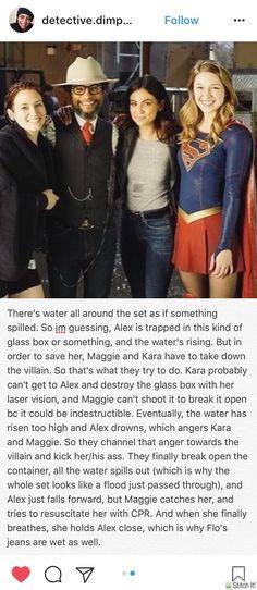 Yes yes yes - Supergirl 2x17 headcanon - Sanvers - Alex Danvers - Maggie Sawyer - Kara Danvers