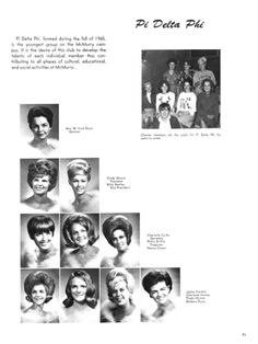 The Totem, Yearbook of McMurry College, 1966, Page: 71 | The Portal to Texas History