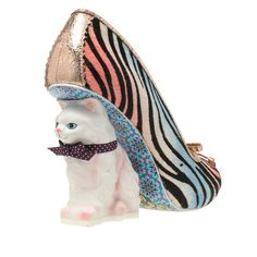 Irregular Choice 'Paw Print' high heel, available in the  only at ashburyskies.com. Crazy cat lady. Meow.