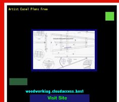 Artist Easel Plans Free 224152 - Woodworking Plans and Projects!