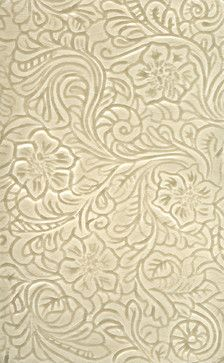 Tooled Leather traditional bathroom tile