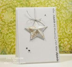 3-D hanging star ornament + video