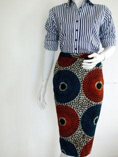ce que www.cewax.fr préfère chez Openya-couture - jupe crayon en wax africain n°1