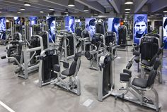 Jumeirah Emirates Towers - Talise Fitness - Weight Machines