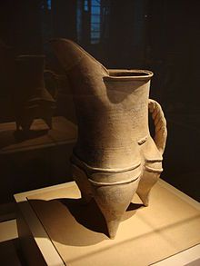 A pottery gui (pitcher) vessel from the late Longshan culture at Shandong, c. 2500 – c. 2000 BC