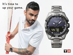 Tissot is proud to welcome the Indian international cricketer, Virat Kohli in the Tissot Ambassador Family. We can't wait for our succes story to begin #TissotMoment #Luxury #Watches #TharooCoOrlando    407.264.0200 http://www.tharooco.com/contact-us.html