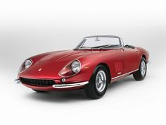 1968 Ferrari 275 GTS/4 NART Spider by Scaglietti | Featured in Thomas Crown Affair and then owned by McQueen one of just 10 made, suppose to go for about 27.5 million at auction this may.