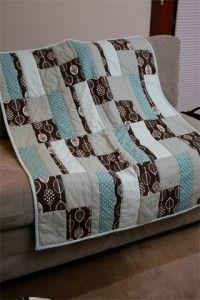little boy's quilt