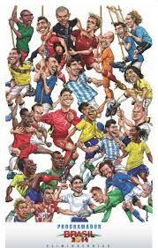 Resultado de imagen para caricaturas de soccer