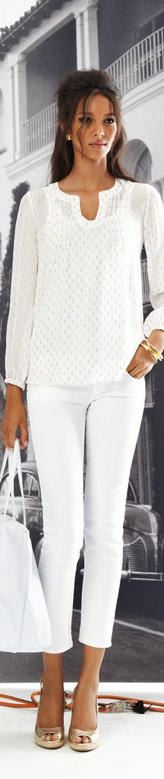 Lilly Pulitzer | All white fashion | Sexy girl in white | Celebrate an all white occasion | #Thejewelryhut