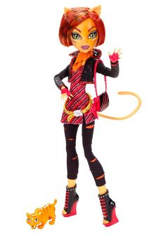 Monster High Torelai Stripe with Sweet Fang