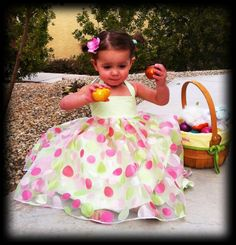 Lace Up Sundress childrens sewing Tutorial PDF Pattern epattern dress for girls and babies