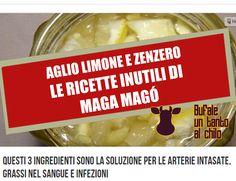 Ma davvero con una ricetta della nonna con aglio, limone e zenzero possiamo pulirci le arterie e dimagrire? No, si tratta di un rimedio senza alcuna base scientifica!