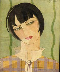 Spain. Blanco y Negro magazine cover, 1930 // VIERA SPARZA