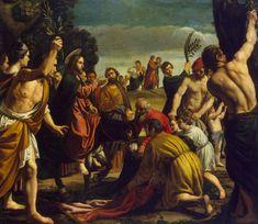 Entry into Jerusalem byPedro Orrente Date: 1620