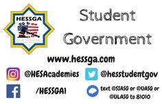 Interested in participating in organizing activities in school for your fellow students?  Join student government at hessga.com/join