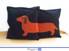 Dachshund Cushion Cover. long dog, shortside home decor