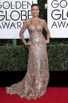 sofia vergara golden globes 2017 | SOFIA VERGARA at 74th Annual Golden Globe Awards in Beverly Hills 01 ...