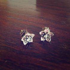 Juicy earrings Juicy floral earrings Juicy Couture Jewelry Earrings