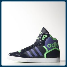 superior quality 4e729 dfc1c These women s shoes put the retro dunker in a full grain leather upper with  vibrant pops of color. With an oversize tongue, an adidas ...