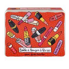 Boîte à Rouges à lèvres