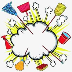 Illustration about CLoud burst explosion with cleaning equipment for business or household. Illustration of spray, clip, dust - 9053331 School Equipment, Teen Party Games, Back To School Bulletin Boards, Cleaning Equipment, Cleaning Materials, Housekeeping, Fig, Tattoo Artists, Cleaning Supplies