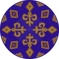 Wayuu Mochila bottom Boho Tapestry, Tapestry Bag, Tapestry Design, Tapestry Crochet, Crochet Mandala Pattern, Crochet Stitches Patterns, Peyote Patterns, Mochila Crochet, Crochet Handbags
