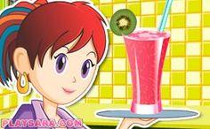 Suc de fructe Sara's Cooking Class, California Rolls, Pasta Carbonara, Fettuccine Alfredo, Falafel, Pavlova, Churros, Ratatouille, Pop Tarts