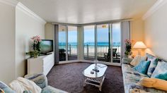 Enjoy beautiful views of the gulf when you visit Anna Maria Island Club 27! This great beach front condo sleeps up to 4 guests. Enjoy the beach, free trolley stops, shopping and dining all right at your finger tips! Book your Anna Maria Island beach rental today with IslandReal.com