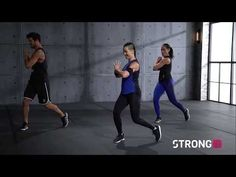 STRONG by Zumba Entrenamiento en - Sight word activities - Zumba Workout Videos, Zumba Videos, Hiit Workout At Home, At Home Workouts, Zumba Workouts, Zumba Fitness, Zumba Strong, Low Impact Hiit, Zumba Quotes