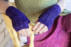 Ravelry: Amy's Mitts pattern by Jessica Anderson
