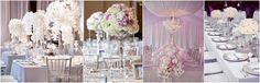 Decoración de bodas en plata: No dejes de hacer esta decoración tan elegante como refinada! El toque justo en el lugar correcto hará de tu salón de bodas un espacio inolvidable!