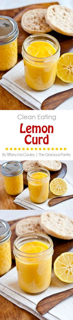 Lemon curd is one of life's great pleasures. Tart, sweet and oh, so delicious, this recipe is sure to become a family favorite! Spread it on toast or eat it from the jar!