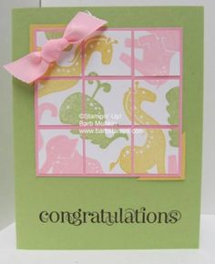 Faux Tile II-Animal Stories by luv my dolly - Cards and Paper Crafts at Splitcoaststampers