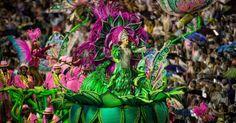 """MANGUEIRA: Com o samba-enredo """"Agora Chegou a Vez Vou Cantar: Mulher de Mangueira, Mulher Brasileira em Primeiro Lugar"""", inspirada na canção de Benito de Paula, a escola busca o seu 19º título com mensagens de respeito, igualdade e pedindo pelo fim da violência de gênero"""