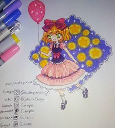 . I draw this with my new copicmarker :) Just decided to draw something cute :D Hope you like it! And I hope that I can draw someday better xD but I really tried :) . You can see the outlines in an other post before this ;) . ~~~~~~~~~~~~~~~~~~~~~~~ #cutiepix #cutiepixdesign #anime #manga #draw #drawing #art #kawaii #kawaiigirl #otaku #doodle #sketch #chibi #animearttr #animeartgallery #animeartcollective #animeartassistant #animedraw #animedrawing #aninedoodle #mangadraw #animegirl…